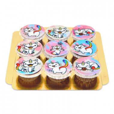 Kittycorn Cupcakes, 9 st