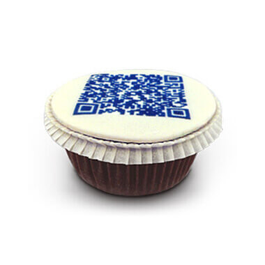 QR-kod Cupcakes (9 st)
