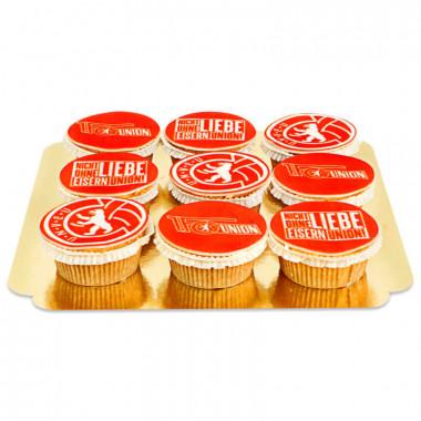 1. FC Union Berlin - Cupcakes med logotyp