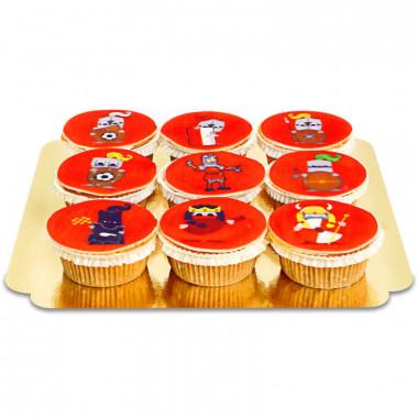 1. FC Union Berlin - riddaren Keule-cupcakes
