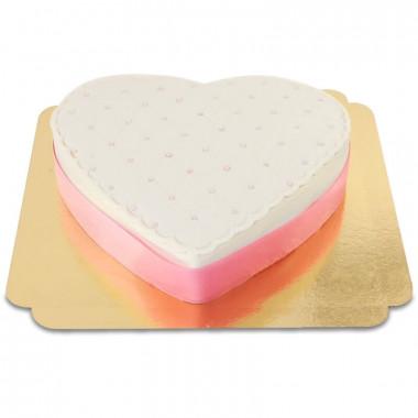 Deluxe Alla Hjärtans Dag-tårta, Olika Färger