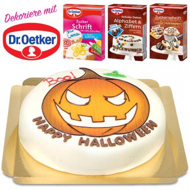Dr. Oetker Halloweentårta