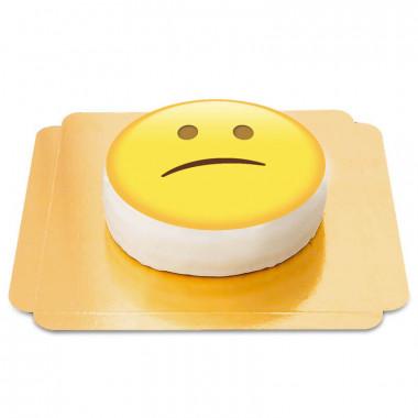 Besviken emojitårta
