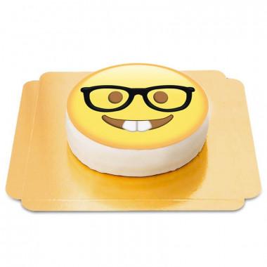 Emojitårta, nörd