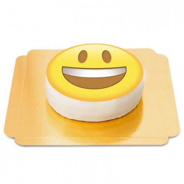 Glad emojitårta