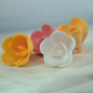 Blommor i pastell (4 st)