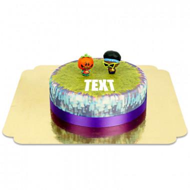 Fortnite - Funk Ops & Tomatohead på tårta