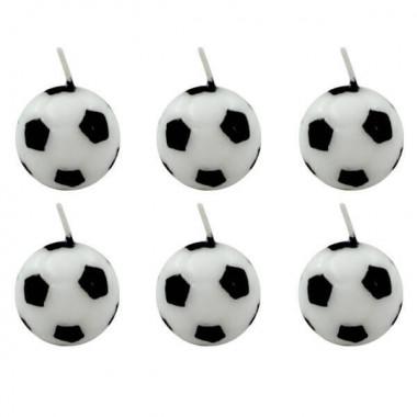Fotbollsljus (6 st)