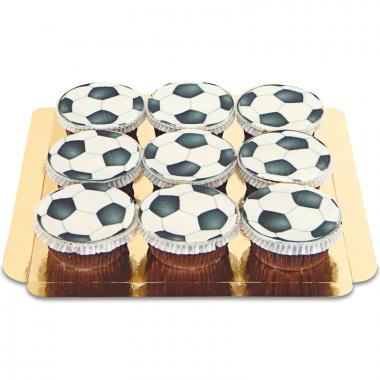 Fotbolls-Cupcakes