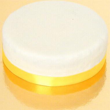 Smalt tårtband, gult