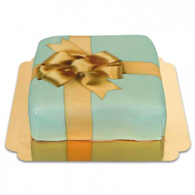 Presenttårta, grön