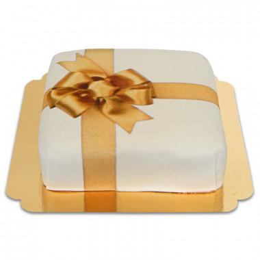 Presenttårta, vit