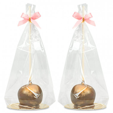 Deluxe Cake-Pops Guld (10 st)