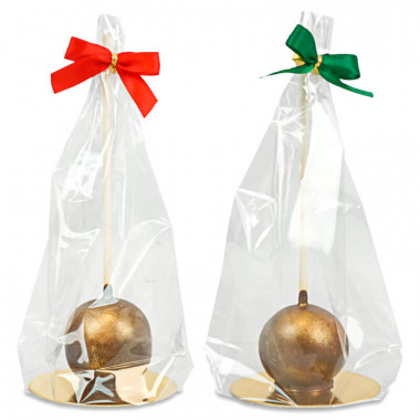 Deluxe Cake-Pops Guld (10 st) - Jul edition