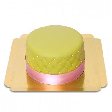 Grön Deluxe tårta