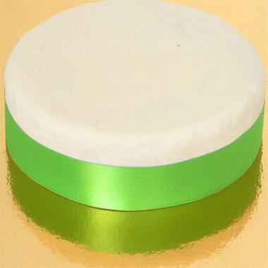 Brett tårtband, ljusgrönt/limegrönt