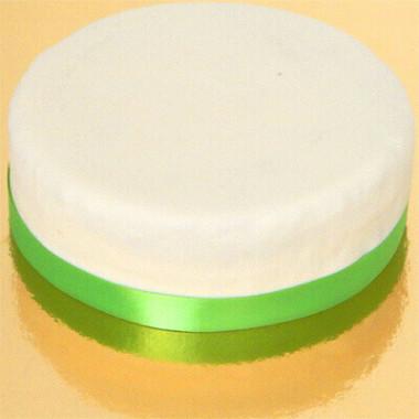 Smalt tårtband, ljusgrönt/limegrönt