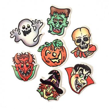Halloween dekoration (7 st)
