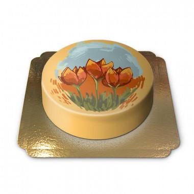 Tulpan tårta