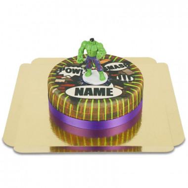 Hulken på supertårta