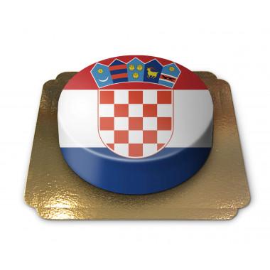 Kroatien-tårta