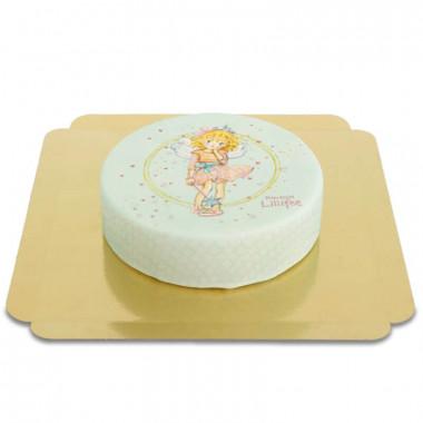 Prinsessan Lillifee tårta mintgrön