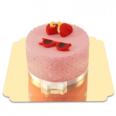 Sminktårta Deluxe, Röd Summer Edition
