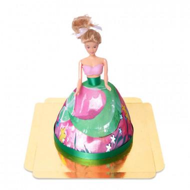 Sjöjungfru-tårta
