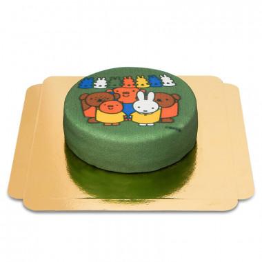 Miffytårta grön