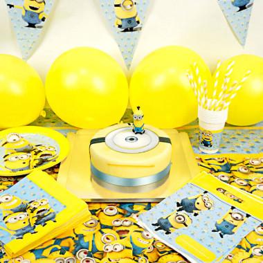 Partyset Minions - Inkl. Tårta