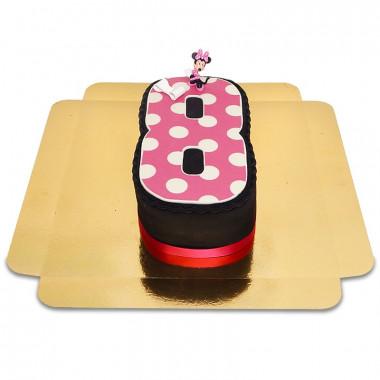 Mimmi Pigg på siffertårta