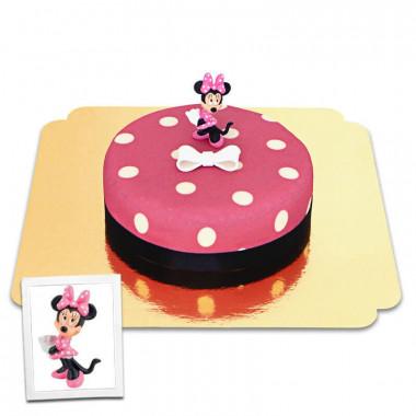 Mimmi Pigg på prickig tårta
