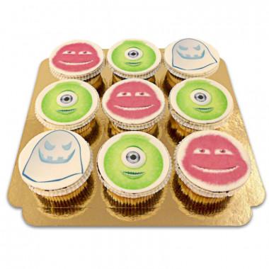Cupcakes med monster