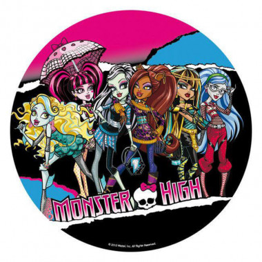 Bildoblat, Monster High