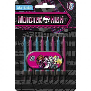 Monster High tårtljus