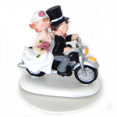 Romantiskt brudpar