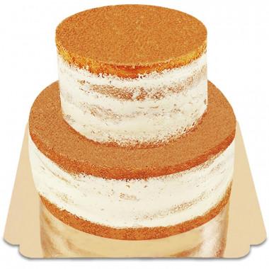 Naked Cake tvåvåningstårta