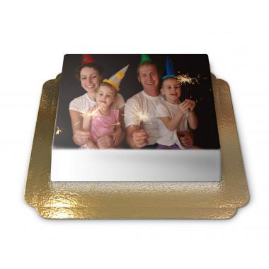 Fototårta utan ram