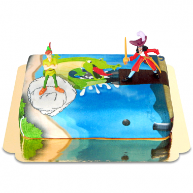 Peter Pan & Kapten Krok på pirattårta