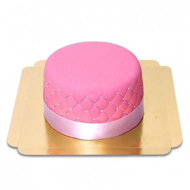 Rosa Deluxe tårta