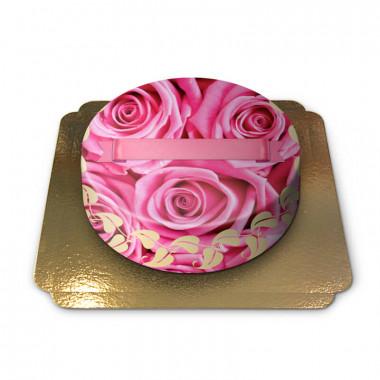 Rosa rostårta