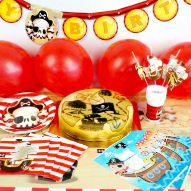 Partyset - Pirat inkl. Tårta