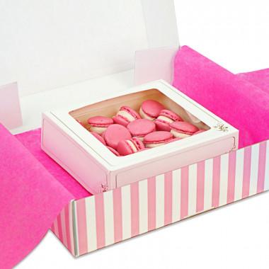 Rosa macarons (16 st)