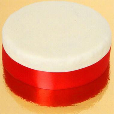 Brett tårtband, rött