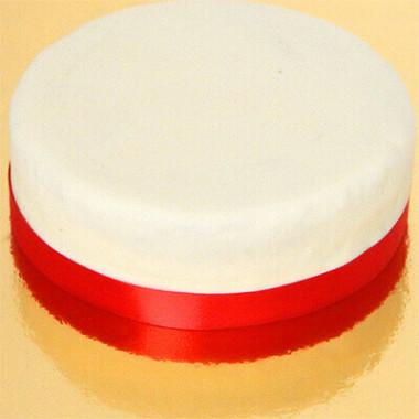 Smalt tårtband, rött