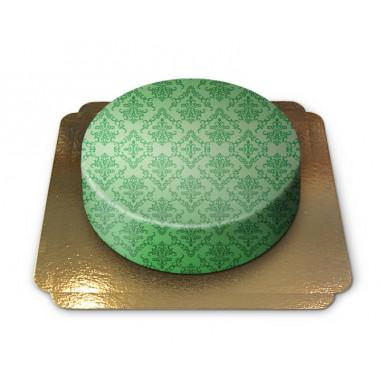 Mönsterårta, grön