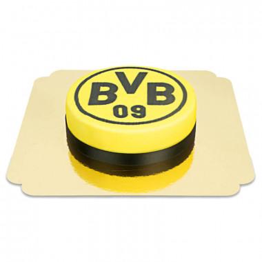 BVB - rund motivtårta