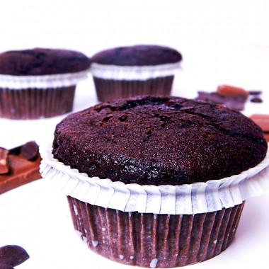 Muffins choklad, 9 st