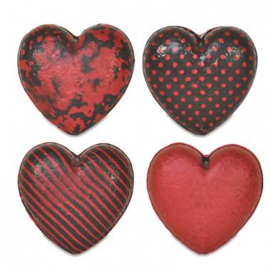 Små chokladhjärtan (4 st)