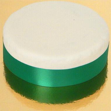 Brett tårtband, smaragdgrönt